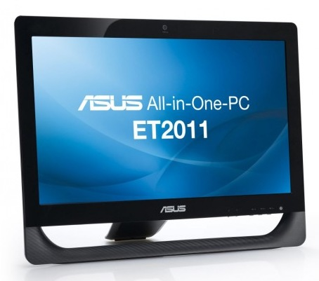 Asus Eee Top ET2011AUKB and ET2011AUTB All-in-one PCs powered by AMD Fusion