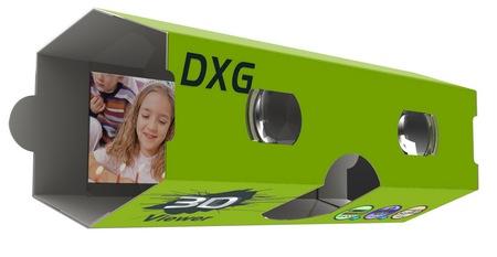 DXG 3D Cardboard Viewer