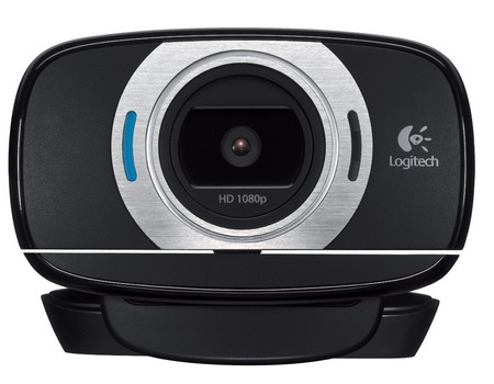 Logitech HD Webcam C615 with Fold-and-Go Design front