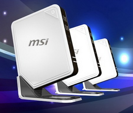 MSI Wind Box DC100 and Wind Box DC540 Mini PCs