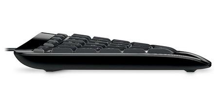 Microsoft Comfort Curve Keyboard 3000 side