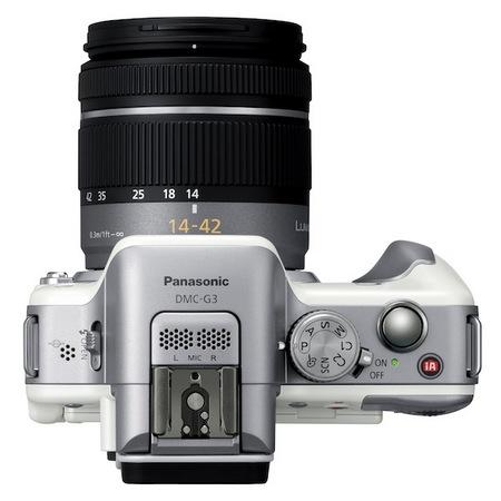Panasonic LUMIX DMC-G3 Micro Four Thirds Camera top