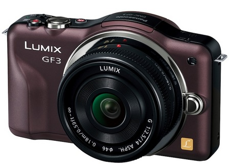 Panasonic LUMIX GF3 - the Company's Smallest and Lightest Micro Four Thirds Camera brown