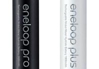 Sanyo eneloop pro and eneloop plus Rechargeable Batteries