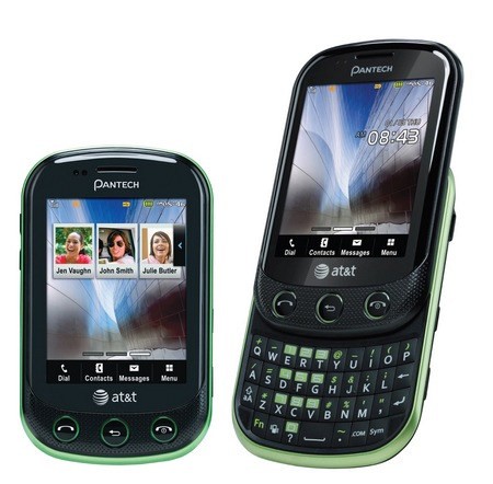 AT&T Pantech Pursuit II Brew MP  QWERTY Feature Phone