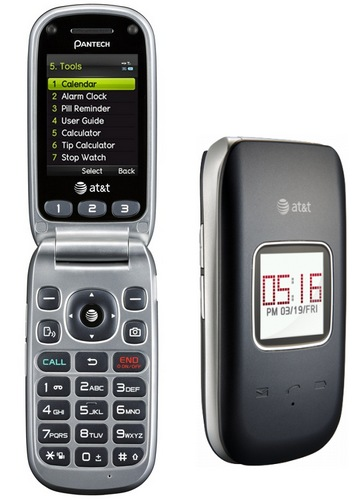 AT&t Pantech breEZe III Clamshell Phone