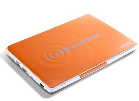Acer Aspire One Happy 2 Color-Inspired Netbooks Papaya Milk