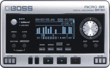 BOSS MICRO BR BR-80 Digital Recorder
