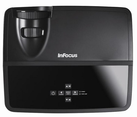 InFocus IN112, IN114, IN116, IN124 and IN126 Budget-priced Projectors