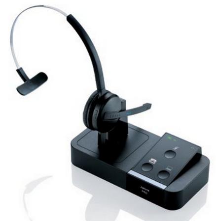 Jabra PRO 9450 Wireless Office Headset optimized for Microsoft Lync 2010