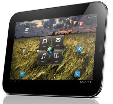 Lenovo IdeaPad Tablet K1 Android 3.1 Tablet angle