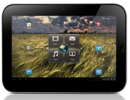 Lenovo IdeaPad Tablet K1 Android 3.1 Tablet front