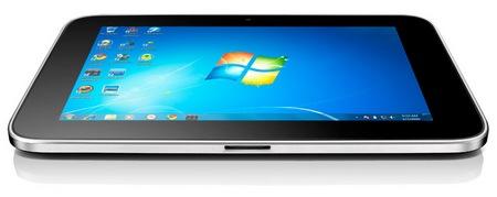 Lenovo IdeaPad Tablet P1 Windows 7 Tablet PC bottom
