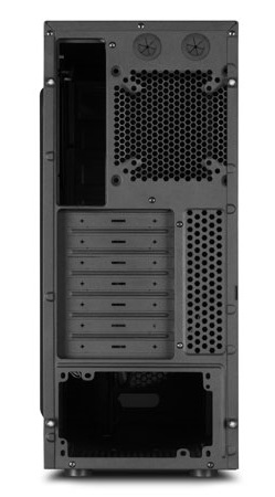 Sharkoon Vaya Mid-Tower Case back