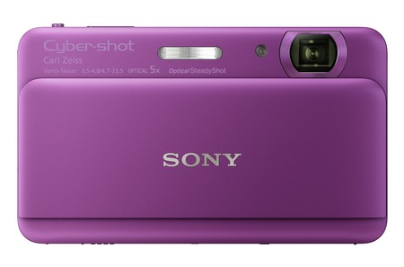 Sony Cyber-shot DSC-TX55 Ultra Thin Digital Camera purple