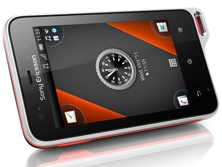 Sony Ericsson Xperia active Android Smartphone for Active Lifestyle 1