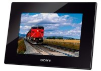 Sony S-Frame DPF-HD800 Digital Photo Frame supports Full HD Video playback