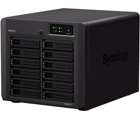 Synology DiskStation DS2411+ 12-bay Enterprise NAS Server 1