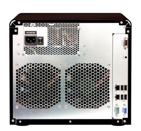 Synology DiskStation DS2411+ 12-bay Enterprise NAS Server back