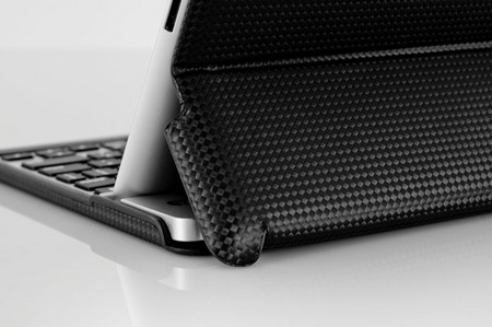 ZAGGfolio All-in-one iPad 2 Keyboard Case stand back