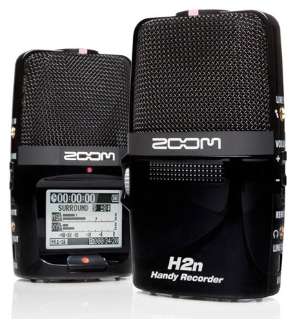 Zoom H2n Handy Recorder with Five Mic Capsules