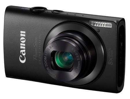Canon PowerShot ELPH 310 HS 8x zoom compact digital camera black