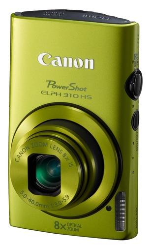 Canon PowerShot ELPH 310 HS 8x zoom compact digital camera green