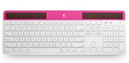 Logitech Wireless Solar Keyboard K750 for Mac pinlk
