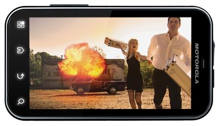 Motorola DEFY+ Rugged Android Smartphone landscape