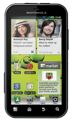 Motorola DEFY+ Rugged Android Smartphone portrait