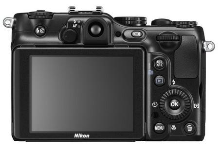 Nikon CoolPix P7100 Prosumer Digital Camera back