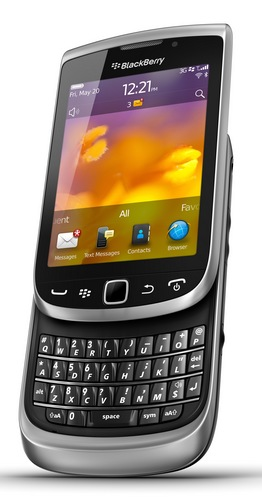 RIM BlackBerry Torch 9810 Smartphone with Slide-out Keyboard and Touchscreen