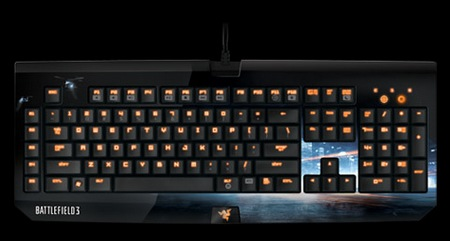 Razer BlackWidow Ultimate Battlefield 3 Edition Gaming Keyboard