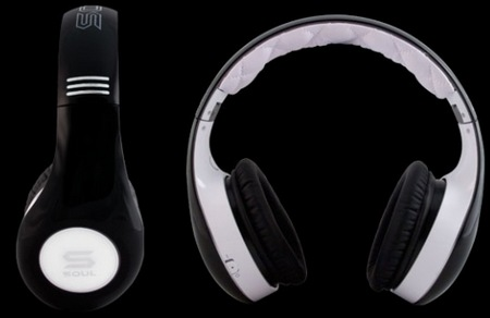 SOUL by Ludacris SL300 Noise-cancelling Headphones black white