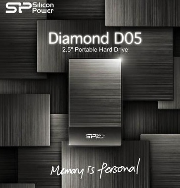 Silicon Power Diamond D05 USB 3.0 Hard Drive