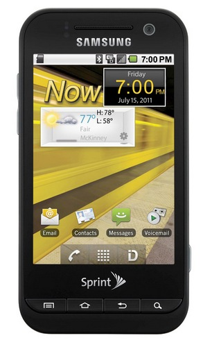 Sprint Samsung Conquer 4G Android Smartphone costs $99.99