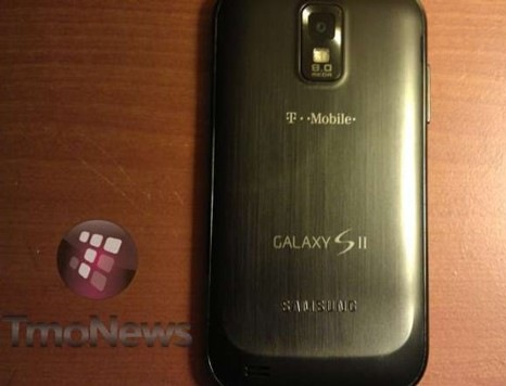 T-Mobile Samsung Hercules is a Galaxy S II Variant for the US back
