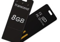 Transcend JetFlash T3 Tiny USB Flash Drive black