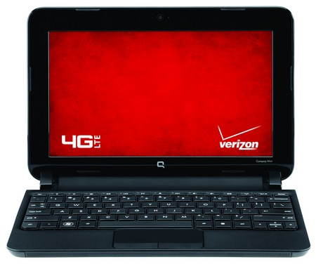 Verizon Compaq Mini CQ10-688nr Netbook with Built-in 4G LTE