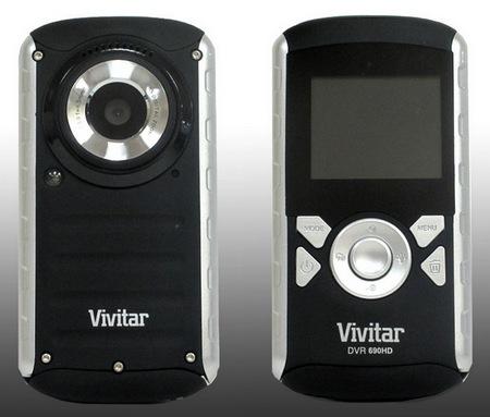 Vivitar DVR690HD Waterproof HD Camcorder