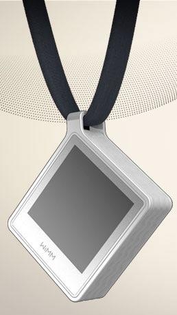 WIMM Wearable Platform Tab Pendant concept