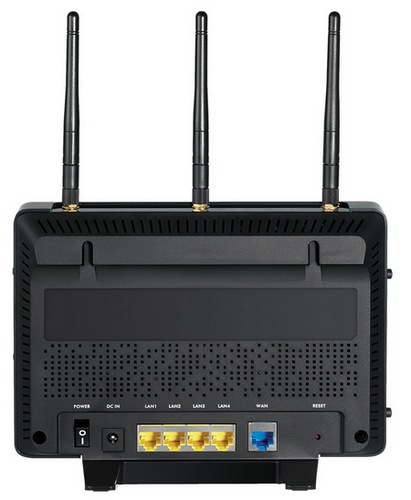 ZyXEL NBG5715 Dual-band 450Mbps Wireless N Router back