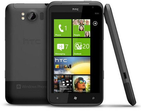 HTC TITAN Windows Phone 7.5 Smartphone