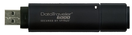 Kingston DataTraveler 6000 Enterprise USB Flash Drive with Military-Grade Data Protection