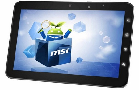 MSI WindPad Enjoy7 Android 2.3 Tablet Released in Hong Kong