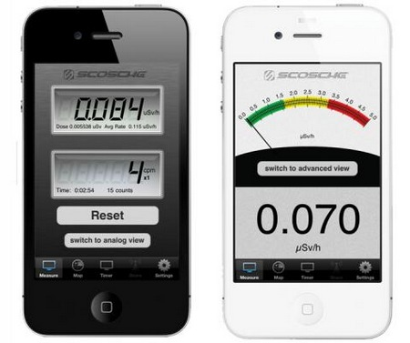 Scosche RDTX-PRO Radiation Detector for iPhone and iPod touch app