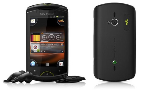 Sony Ericsson Live with Walkman Android Phone