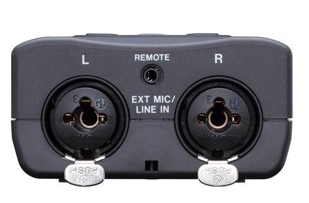 TASCAM DR-40 Handheld 4-Track Recorder connectors