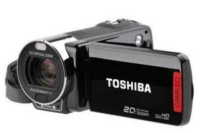 Toshiba Camileo X200 Full HD camcorder