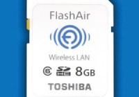 Toshiba FlashAir SDHC with Embedded WiFi